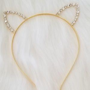 Diamond cat ears GOLD